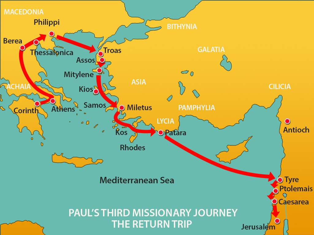 08-Paul 3rd missionary journey return trip | Worship Warriors Ministry